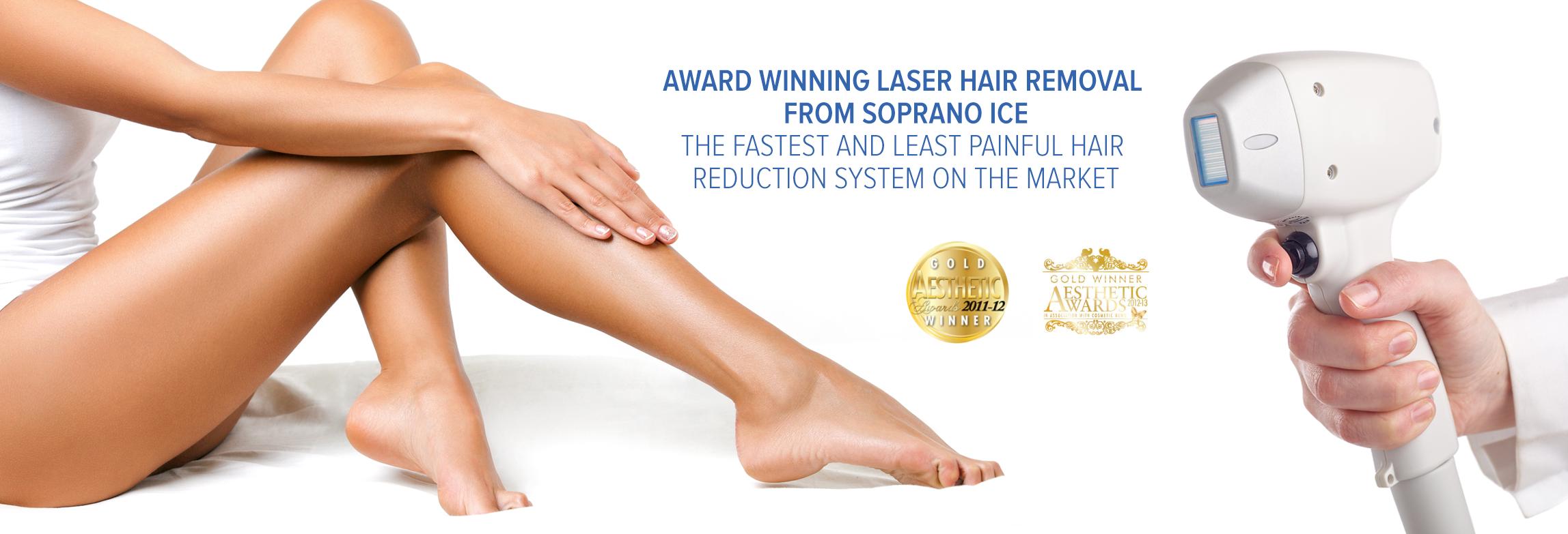 Alma Soprano Ice Laser Hair Removal